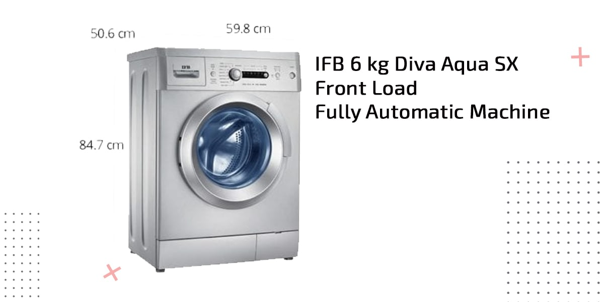 ifb 6 kg diva sx front load fully automatic